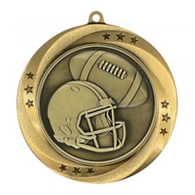 Médaille Or Football 2 3/4 po MMI54906G
