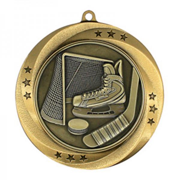 Hockey Gold Medal 2 3/4 in MMI54910G
