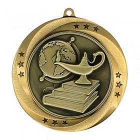 Médaille Or Académique 2 3/4 po MMI54912G