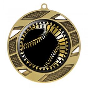 Médaille Or Baseball 2 3/4 po MMI50302G
