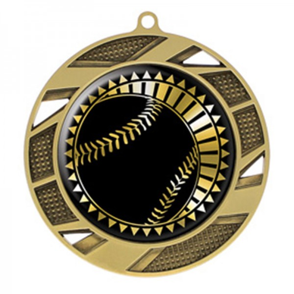Baseball Gold Medal 2 3/4 in MMI50302G