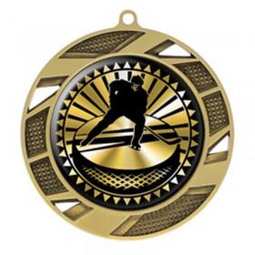 Médaille Or Hockey 2 3/4 po MMI50310G