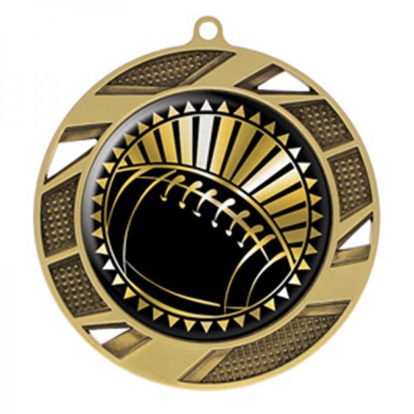 Médaille Or Football 2 3/4 po MMI50306G