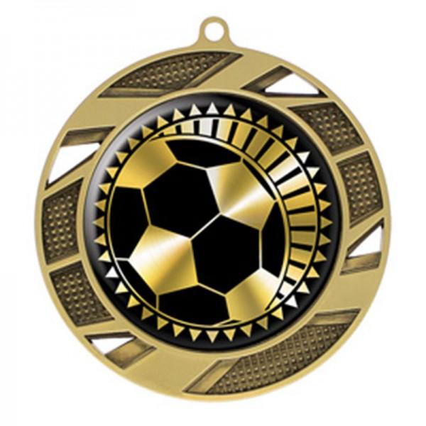 Médaille Or Soccer 2 3/4 po MMI50313G