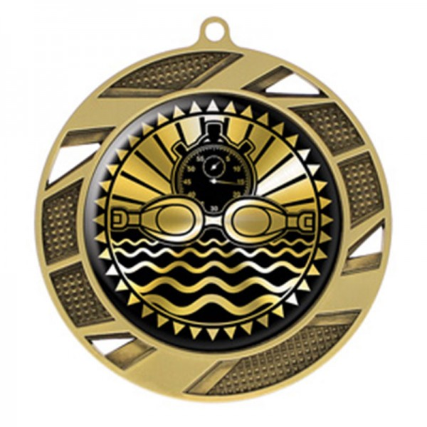 Swimming Gold Medal 2 3/4 in MMI50314G