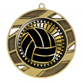 Volleyball Gold Medal 2 3/4 in MMI50317G