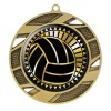 Médaille Or Volleyball 2 3/4 po MMI50317G