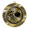 Médaille Or Lacrosse 2 3/4 po MMI50328G