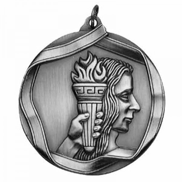 Achievement Silver Medal 2 1/4 in MS601AS
