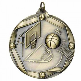 Basketball Gold Medal 2 1/4 in MS603AG