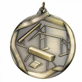 Gymnastics Gold Medal 2 1/4 in MS608AG