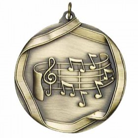 Music Gold Medal 2 1/4 in MS659AG