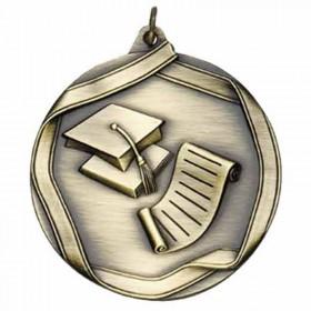 Médaille Or Mérite Scolaire 2 1/4 po MS662AG