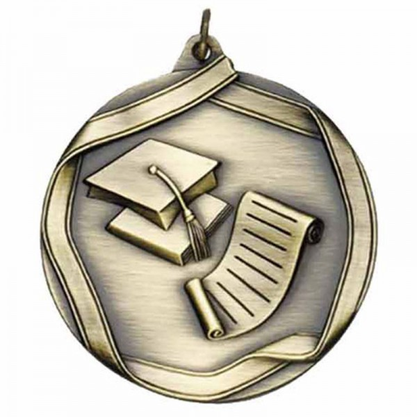 Scholastic Gold Medal 2 1/4 in MS662AG