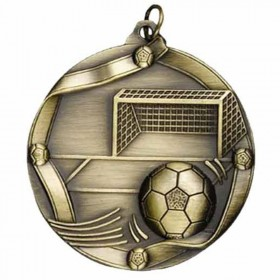 Médaille Or Soccer 2 1/4 po MS613AG