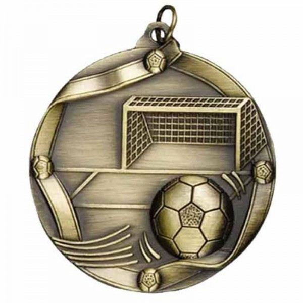 Soccer Gold Medal 2 1/4 in MS613AG