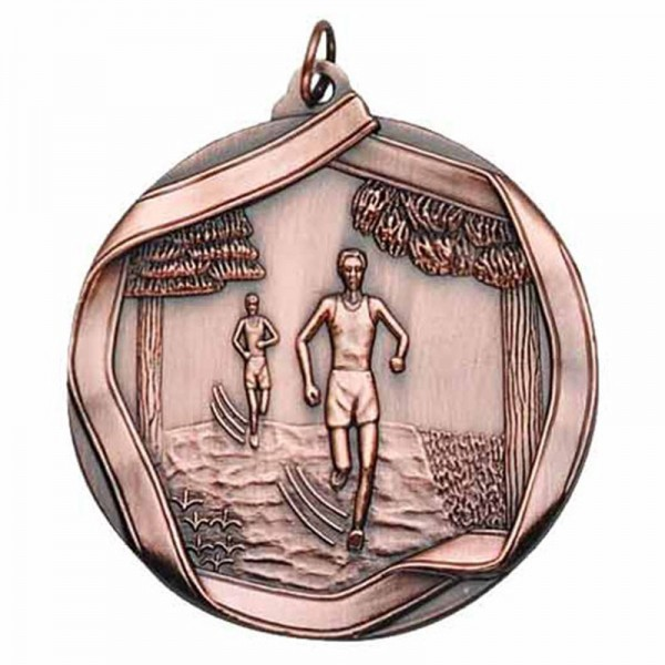 Médaille Bronze Cross Country 2 1/4 po MS655AB