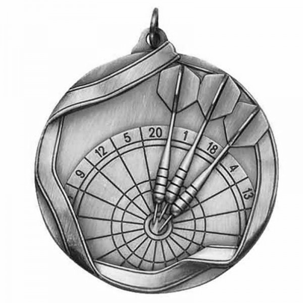 Médaille Argent Dard 2 1/4 po MS636AS