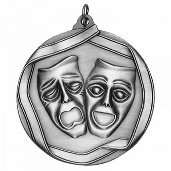 Médaille Argent Art Dramatique 2 1/4 po MS656AS
