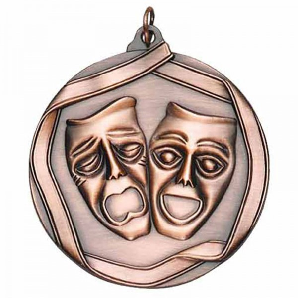 Médaille Bronze Art Dramatique 2 1/4 po MS656AB