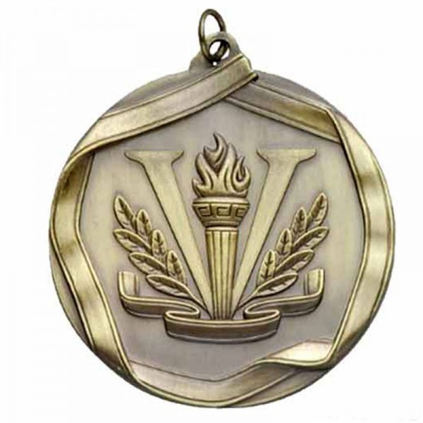 Victory Gold Medal 2 1/4 in MS665AG