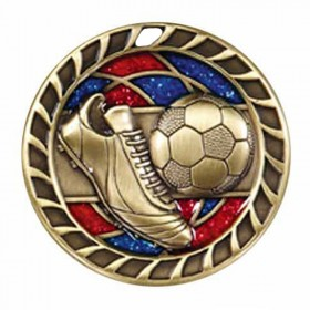 Soccer Gold Medal 2 1/2 in M813AG