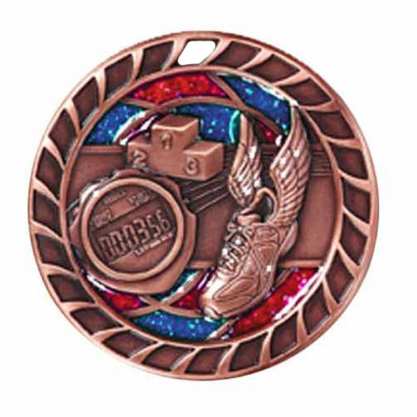 Track Bronze Medal 2 1/2 in M816AB