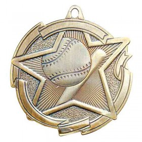 Baseball Gold Medal 2 3/8 in MD1702AG