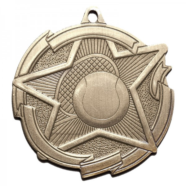 Tennis Gold Medal 2 3/8 in MD1715AG