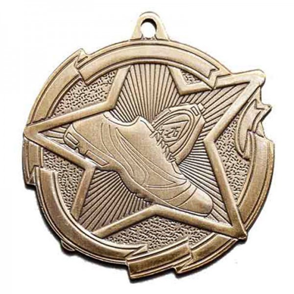 Médaille Or Course à Pied 2 3/8 po MD1716AG
