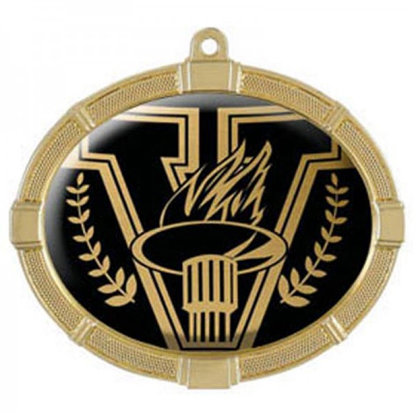 Victory Gold Medals 3 3/8 in MMI62801G