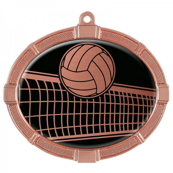 Volleyball Bronze Medals 3 3/8 in MMI62817Z