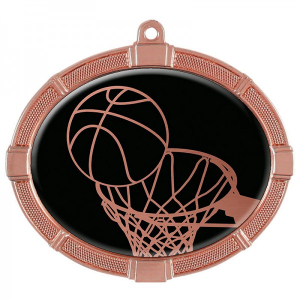 Basketball Bronze Medals 3 3/8 in MMI62803Z