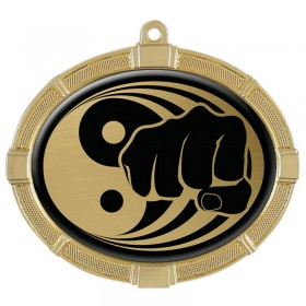 Martial Arts Gold Medals 3 3/8 in MMI62811G