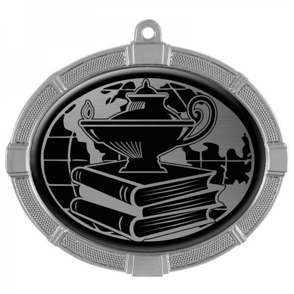 Academic Silver Medals 3 3/8 in MMI62812S