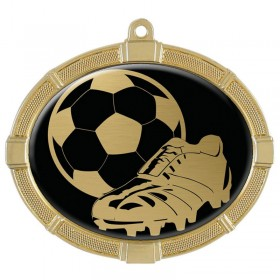 Soccer Gold Medals 3 3/8 in MMI62813G