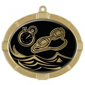 Swimming Gold Medals 3 3/8 in MMI62814G