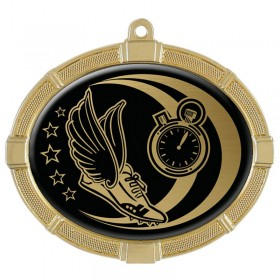 Track Gold Medals 3 3/8 in MMI62816G