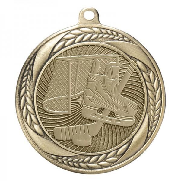 Médaille Or Hockey 2 1/4 po MS210AG