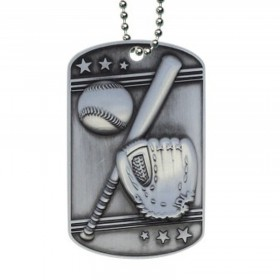 Médaillon Dog Tag de Baseball MDT2102