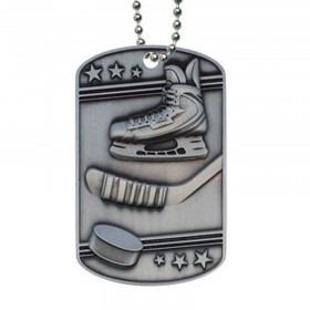 Hockey Dog Tag MDT2110