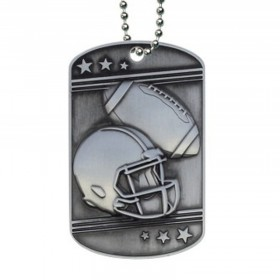 Football Dog Tag MDT2106