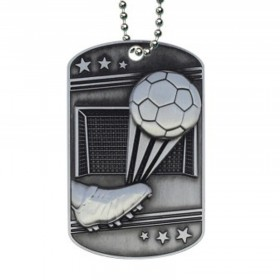 Soccer Dog Tag MDT2113