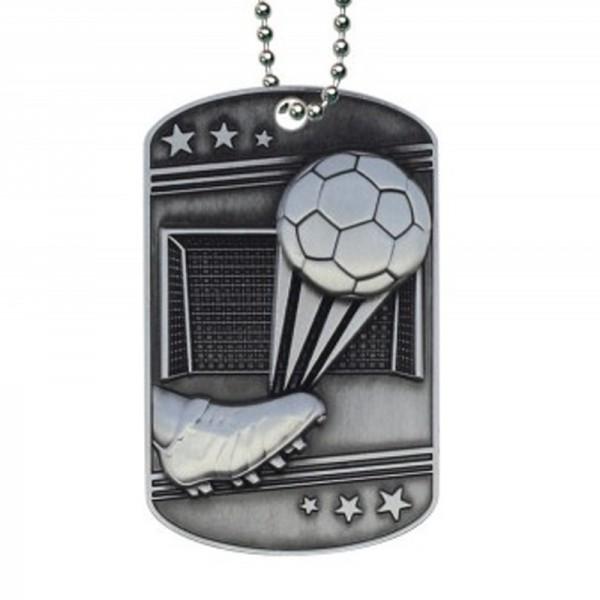 Médaillon Dog Tag de Soccer MDT2113