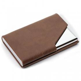 Brown Business Card Holder LG67-T