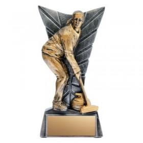 Women's Curling Trophy XRG1446A