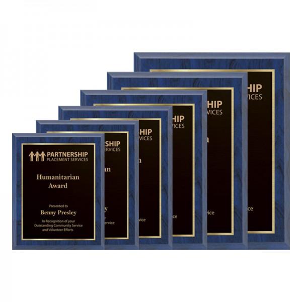 Plaque Bleue - Série Laser PLV120-BLUE-G-SIZE
