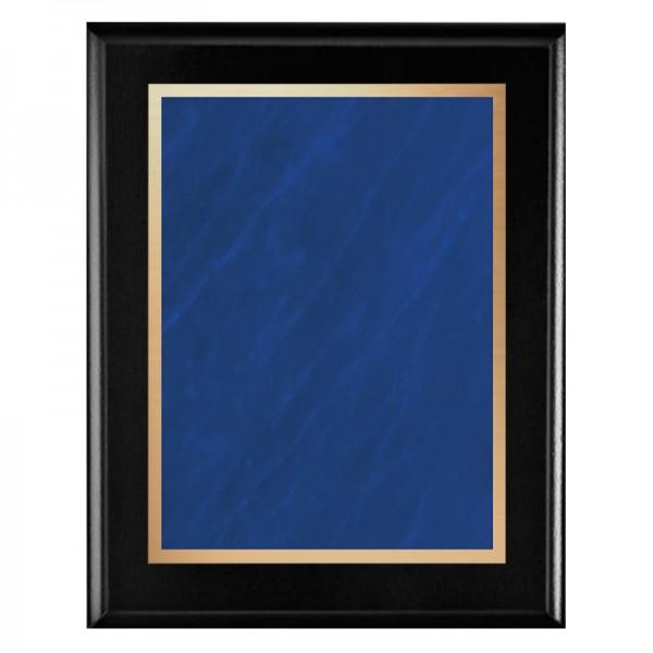 Plaque Noire - Série Marble Mist PLV465-BK-BL-CLEAN