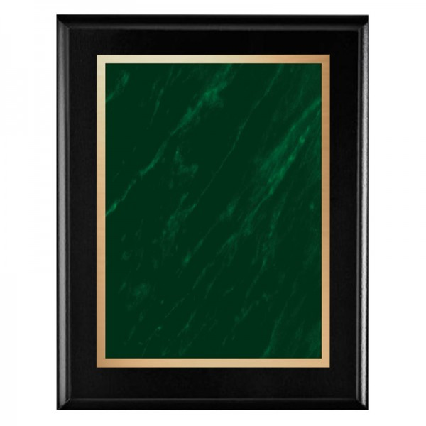 Plaque Noire - Série Marble Mist PLV465-BK-GR-CLEAN