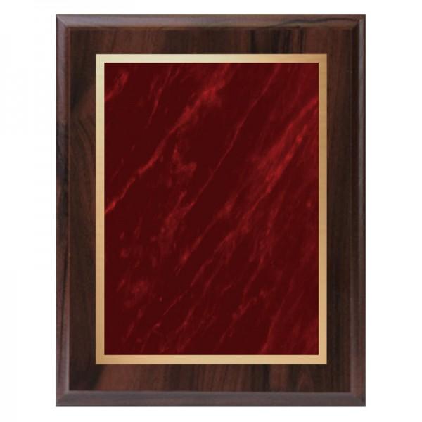 Plaque Merisier - Série Marble Mist PLV465-CW-RED-CLEAN